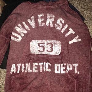 Other - Maroon Maurices sweatshirt